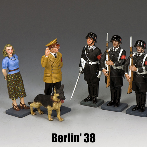 Berlin'38_King & Country Toy Soldiers