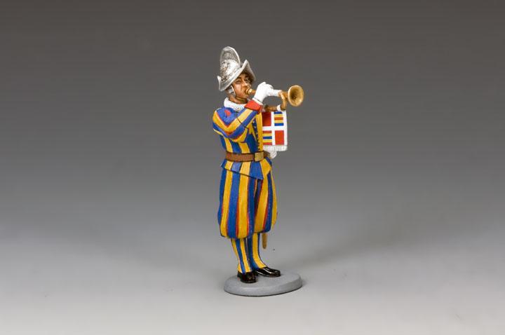 CE020 Swiss Guard Musician  Trumpeter