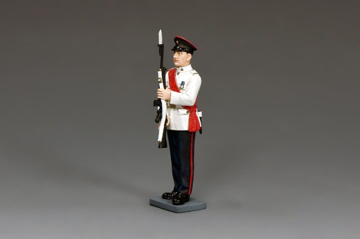 CHK006 RHKR Staff Sergeant Present Arms