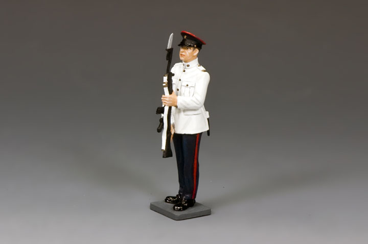 CHK011 RHKR Trooper Present Arms