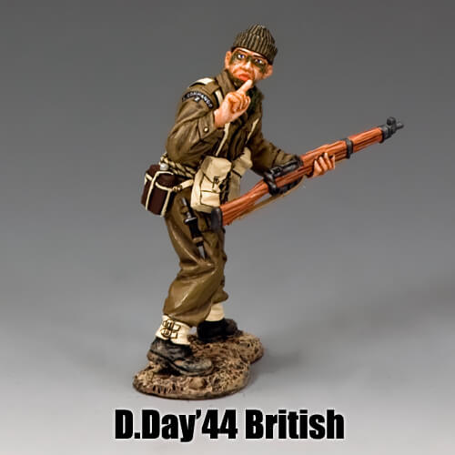 D.Day'44 British_King & Country Toy Soldiers