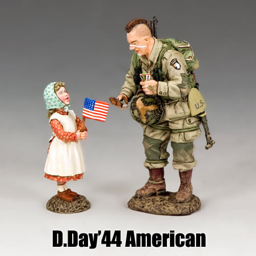 D.Day'44 Americans_King & Country Toy Soldiers