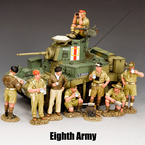 Eighth Army__King & Country Toy Soldiers