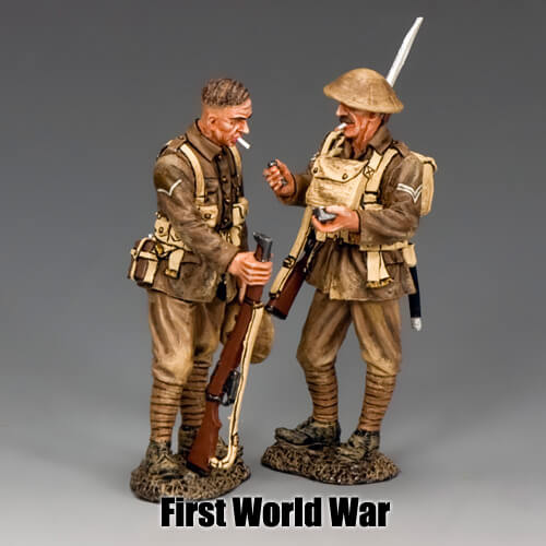 First World War_King & Country Toy Soldiers