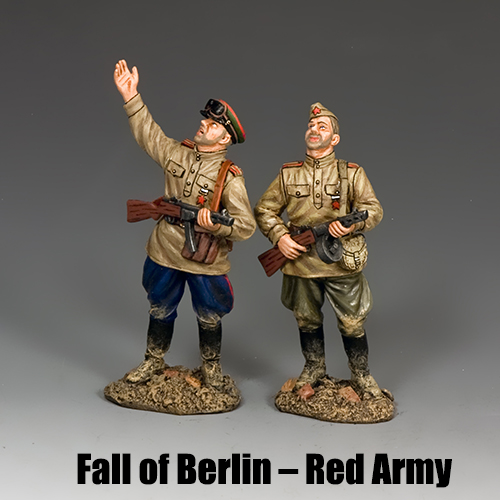 Fall of Berlin – Red Army_King & Country Toy Soldiers