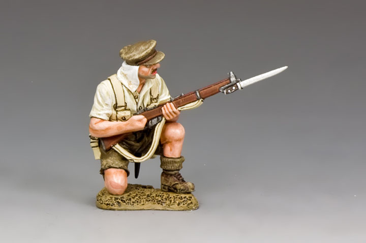 GA028 Kneeling Loading Rifleman, Gallipoli 1915