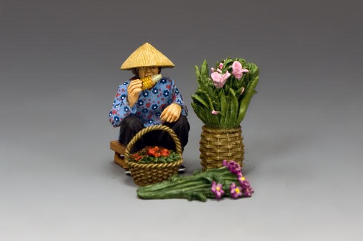 HK281 The Hakka Flower Seller