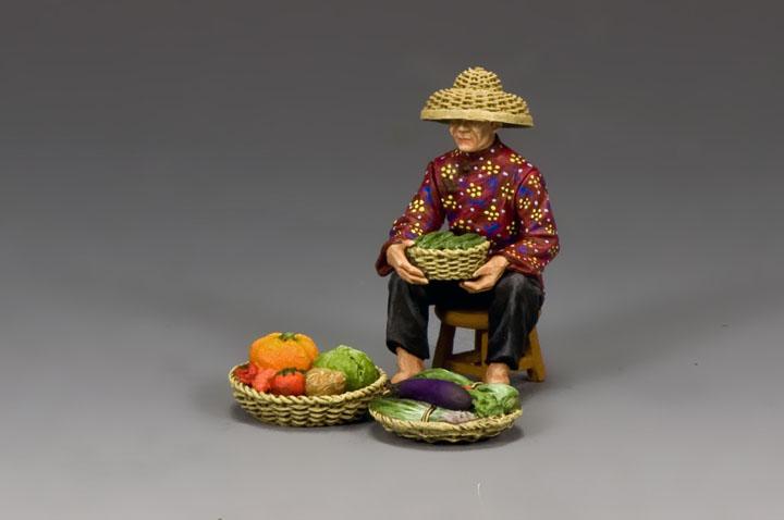 HK282 The Hakka Vegetable Seller