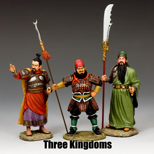 Three Kingdoms_King & Country Toy Soldiers