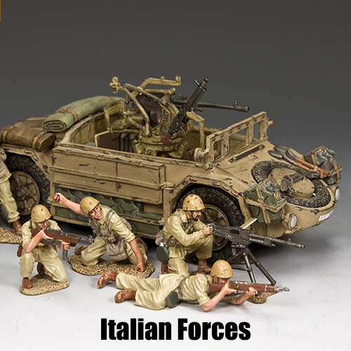 Italian Forces_King & Country Toy Soldiers