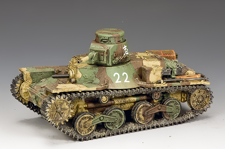 JN041 Type 95 Ha-Go Light Tank (2nd Version)