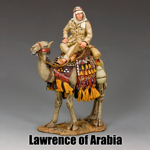 Lawrence of Arabia_King & Country Toy Soldiers