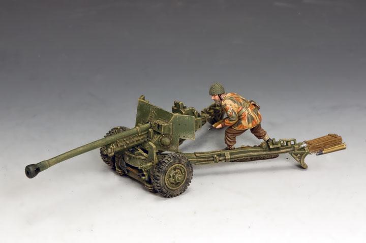 MG074(P) LSgt. John Baskeyfield V.C. and his 6 pdr. Anti Tank Gun