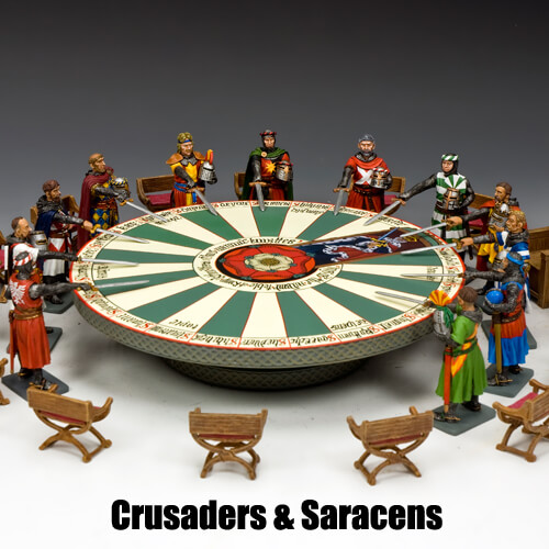 Crusaders & Saracens_King & Country Toy Soldiers