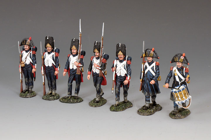 NA-S05 The Old Guard Marching set (7-figure set)