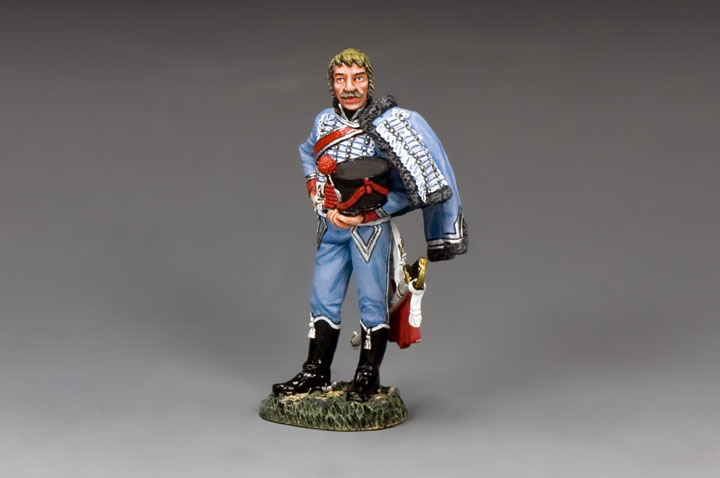 NA354X Hussar with Hat in Hand