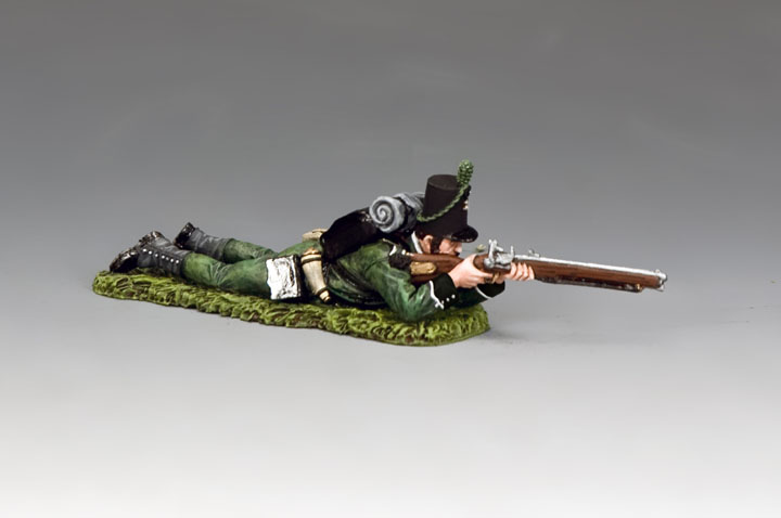 NA379 Lying Prone Rifleman