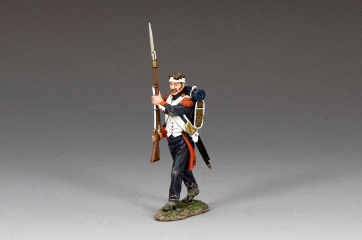 NA393 Wounded Guardsman Shoulder Arms