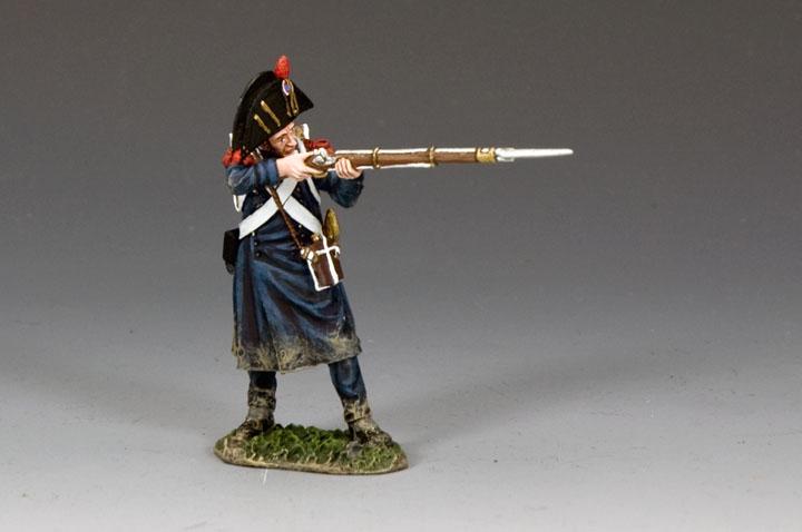 NA394 Bicorne Grenadier Firing Musket