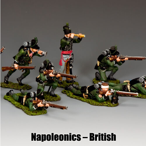 Napoleonics - British_King & Country Toy Soldiers
