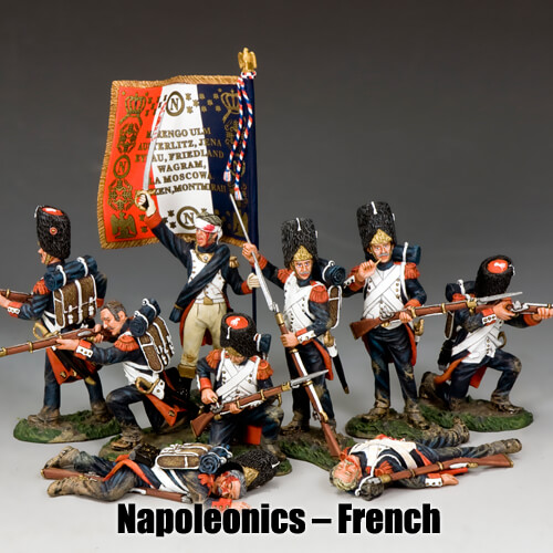 Napoleonics - French_King & Country Toy Soldiers