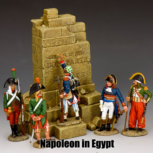 Napoleon in Egypt_King & Country Toy Soldiers