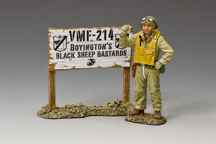 Pappy Boyington & VMF-214 Signpost