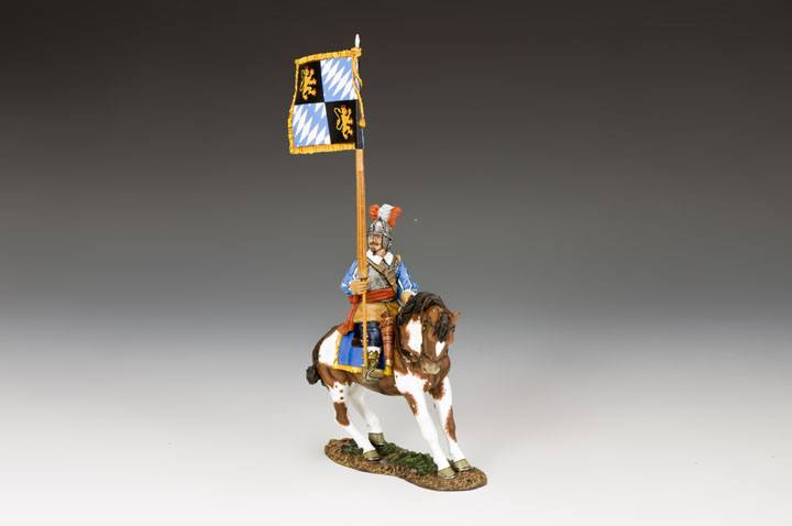 PnM059 Royalist Mounted Flagbearer
