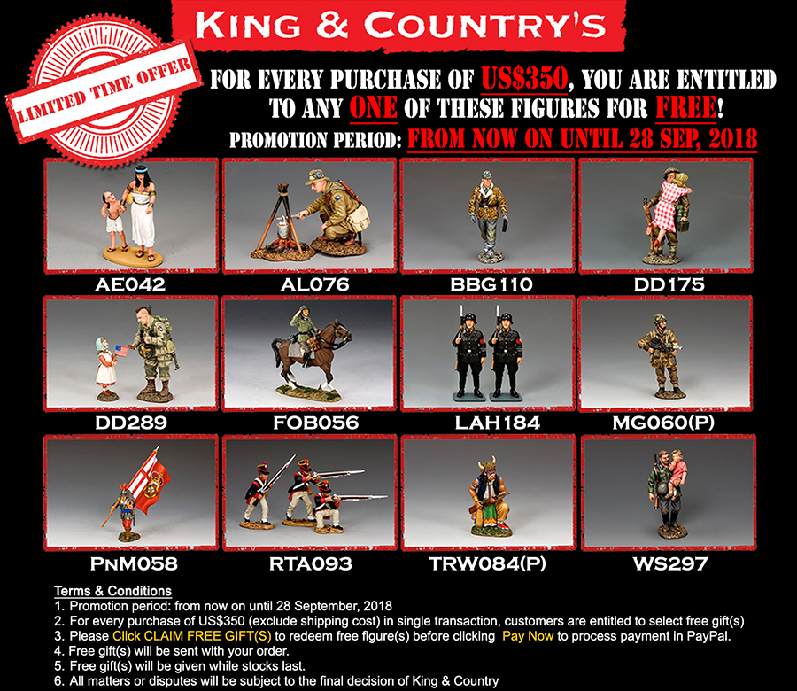 King & Country's Limited Time Offer