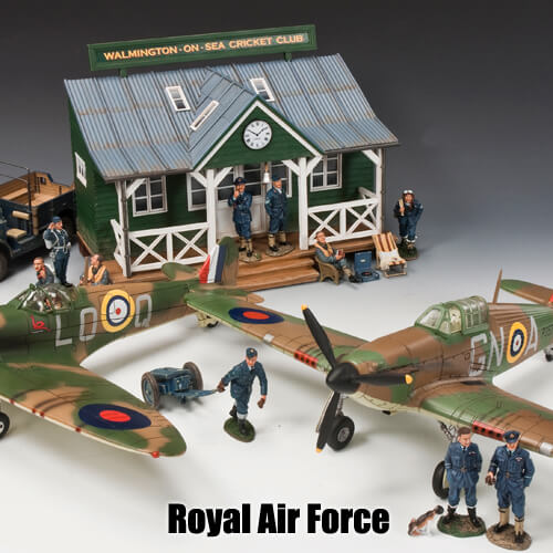 Royal Air Force_King & Country Toy Soldiers