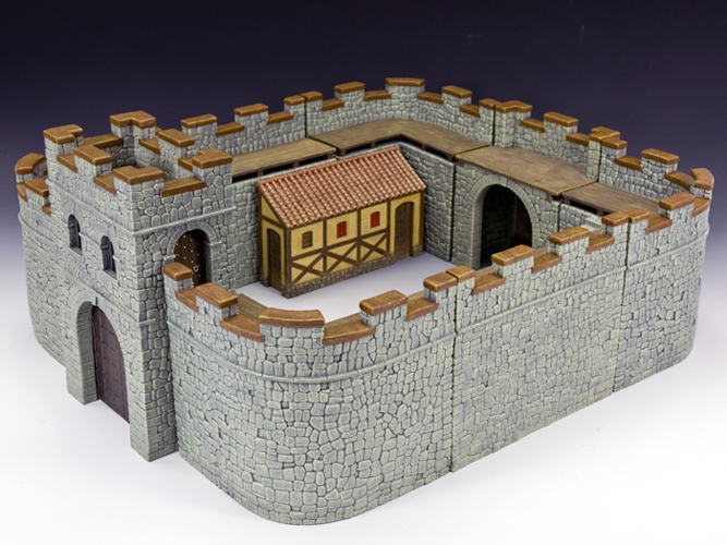 Roman Fort (grey stone)