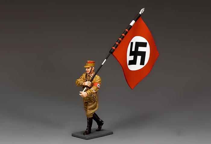SA002 Marching Flagbearer
