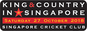 4th Big Event - King & Country in Singapore