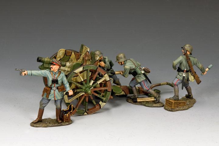 SGS-FW003 WWI German Artillery Set