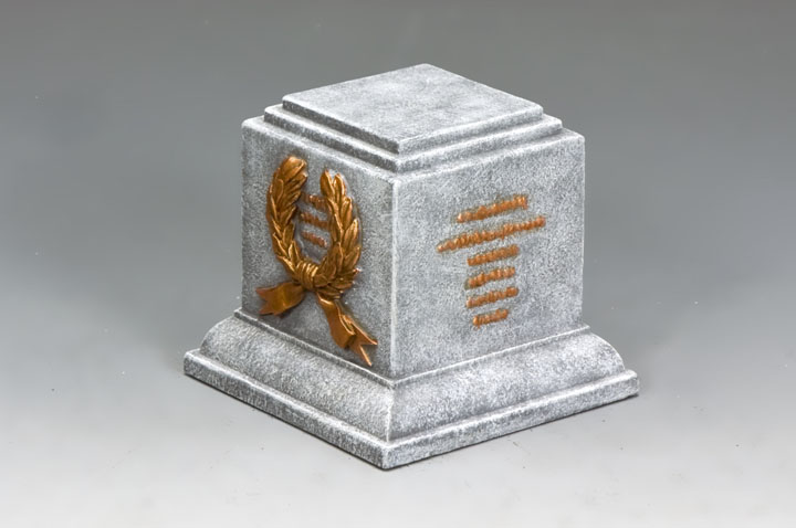 SP074 Square Statue Plinth (Greystone)