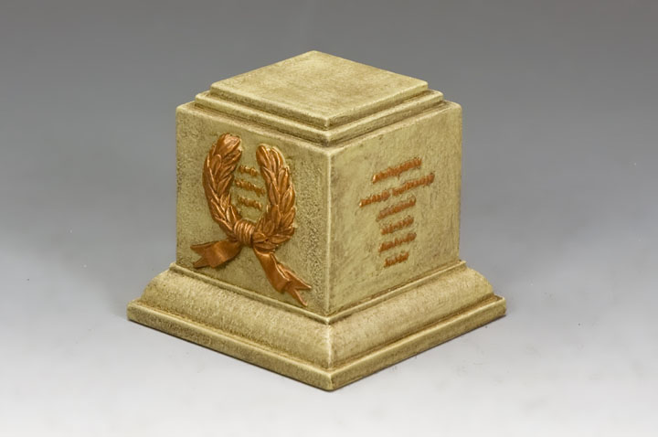 SP078 Square Statue Plinth (Sandstone)