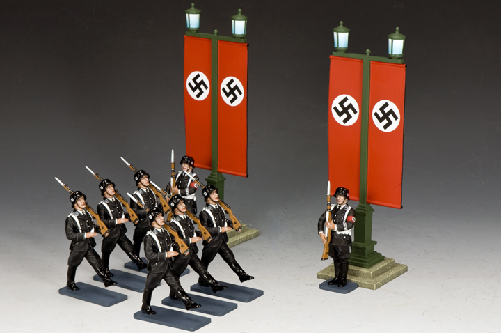 SS Men on Parade