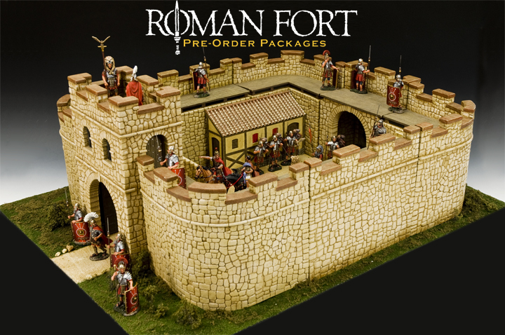 Roman Fort Pre-Order Packages