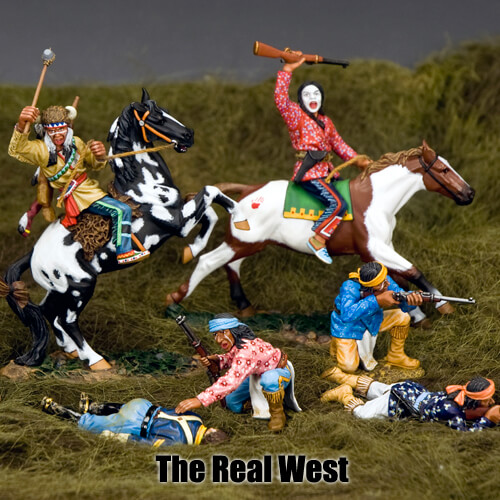 The Real West_King & Country Toy Soldiers