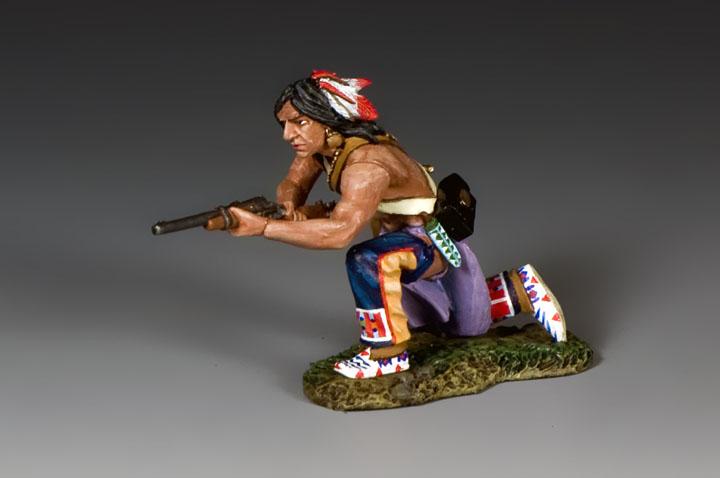 TRW131 Kneeling Plains Indian wCarbine