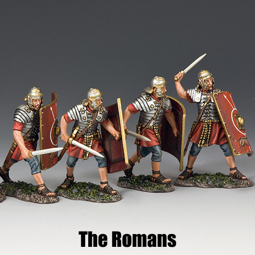 The Romans_King & Country Toy Soldiers