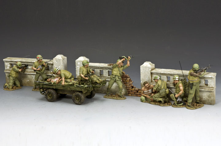 The Vietnam Walls Set