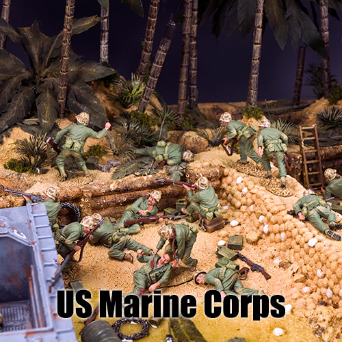 US Marine Corps_King & Country Toy Soldiers