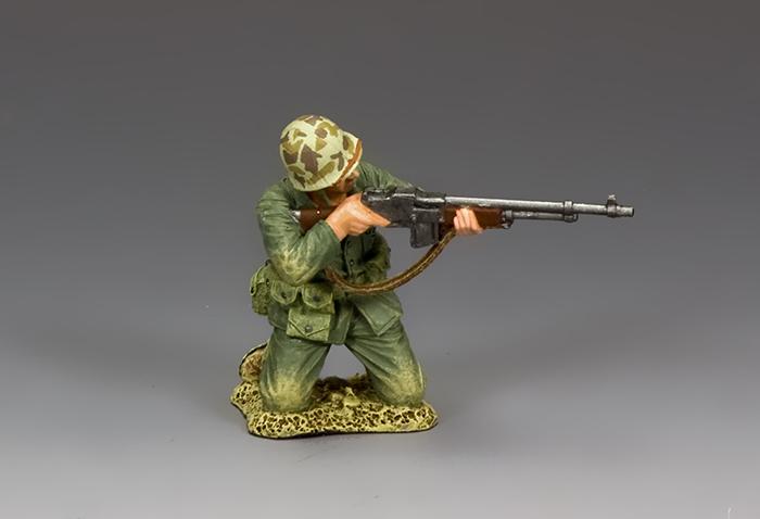 USMC028 Kneeling B.A.R. Gunner