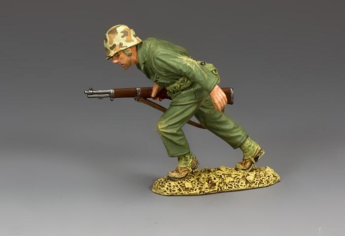 USMC029 Running Marine