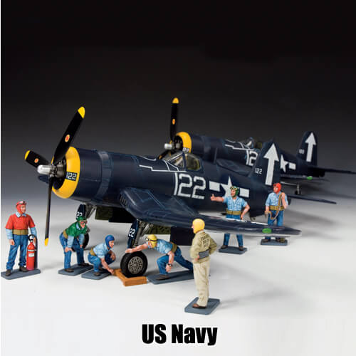 US Navy_King & Country Toy Soldiers