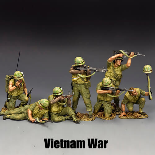 Vietnam War_King & Country Toy Soldiers