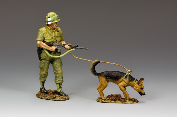VN050 Vietnam War Dog