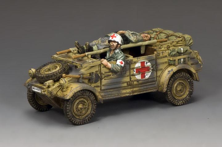WH087 Ambulance Kubelwagen (Mid-Late War)