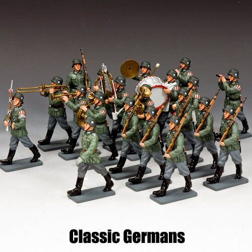 Classic Germans__King & Country Toy Soldiers